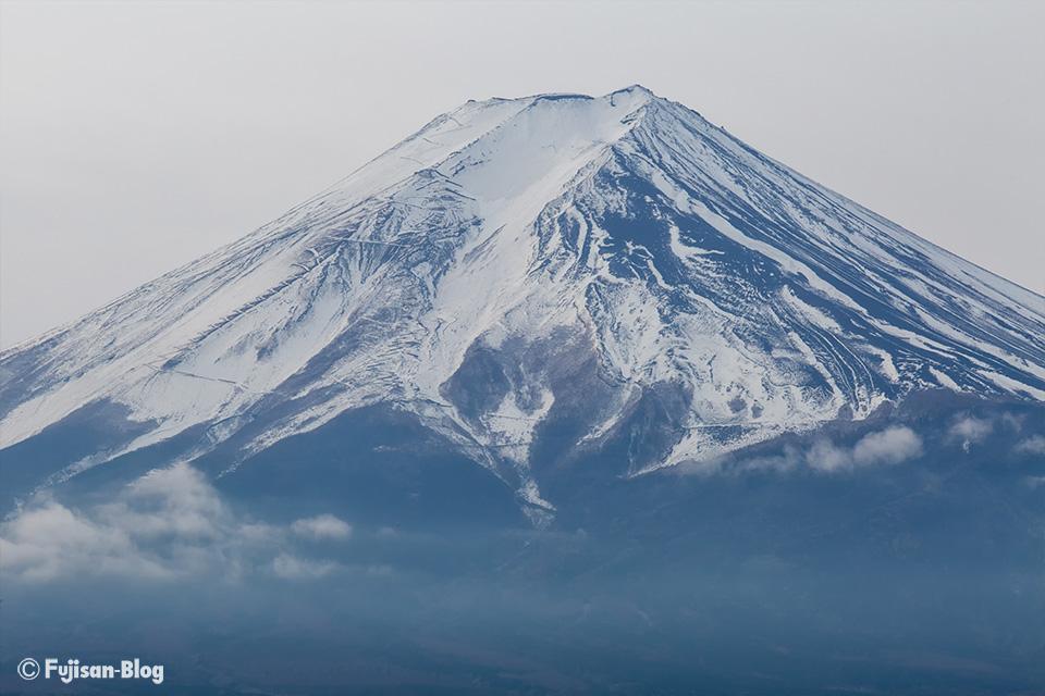 【富士山写真】1月っぽくない富士山