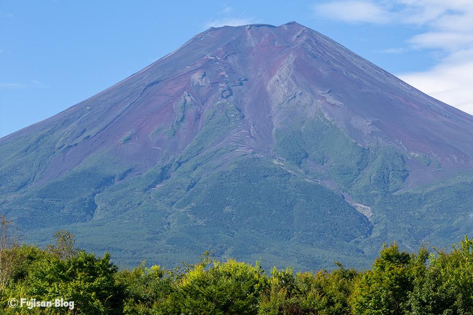 【富士山写真】2019年9月に入っての富士山
