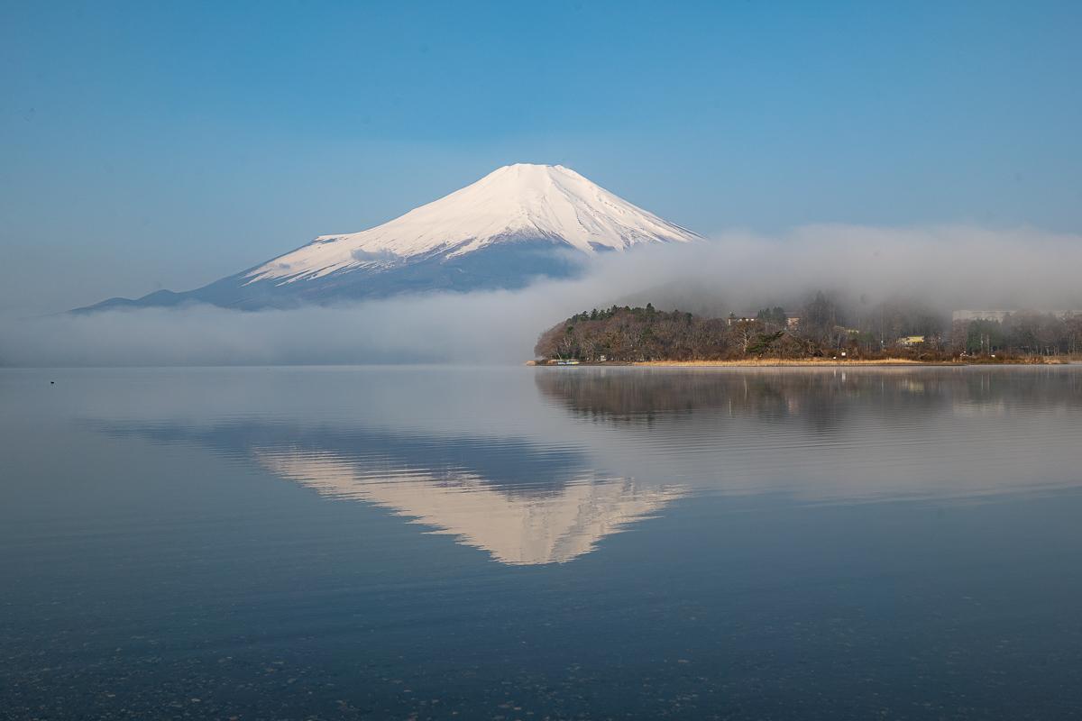 山中湖村平野の富士山