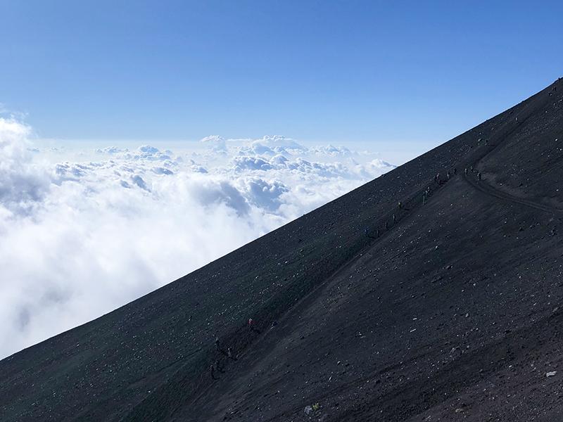 2019年8月26日 山頂付近で落石事故がありました